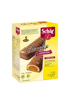 Schar Chocolix Glutensiz Sütlü Çikolata, 110 Gr