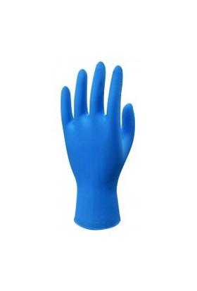 Perfectouch Tek Kullanımlık Mavi Nitril Pudrasız Eldiveni Orta Boy 100'Lü