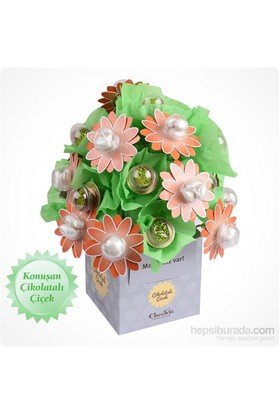 ChocChic Bahar Demeti Çikolatalı Çiçek