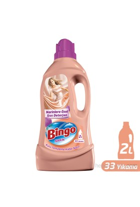 Bingo Narin Sıvı Deterjan 2 lt