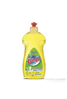Bingo Dynamic Bulaşık Makinesi Parlatıcısı Limon 500 ml