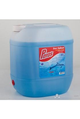Peros 30 Kg Sıvı Sabun Blue soft kk