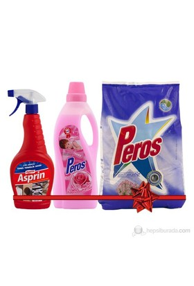 Peros 5 Kg Matik+2 kg Yum+750 ml (Matik Doğa+ Yum.Pembe+ Asperox Asprin 750 ml)
