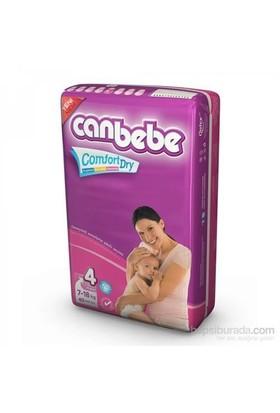 Canbebe Bebek Bezi Süper Ekonomi 4'lü Paket 4 Beden 160 Adet
