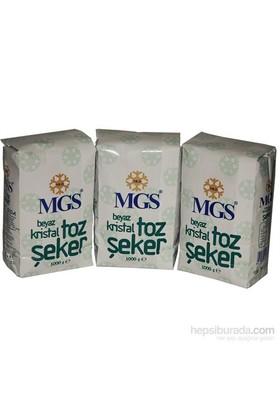 Mgs Paket Toz Şeker 1 Kg 15'Li