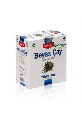 Siirt Doğal Gıda-Gl Beyaz Çay (40'Lı Demleme)