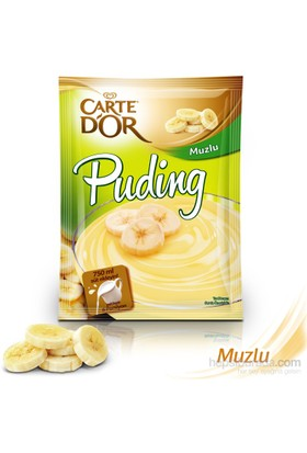 Carte D'or Puding Muzlu 123 gr