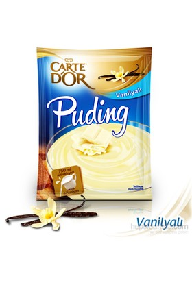 Carte D'Or Puding Vanilyalı 122 gr