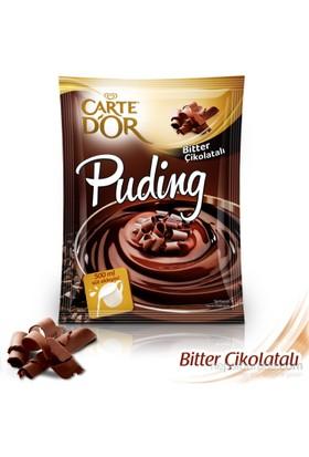 Carte D'or Puding Bitter Çikolatalı 116 gr