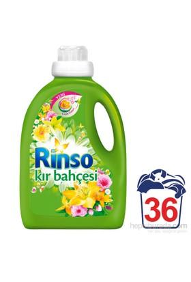 Rinso Sıvı Çamaşır Deterjanı Kır Bahçesi 2700 ML