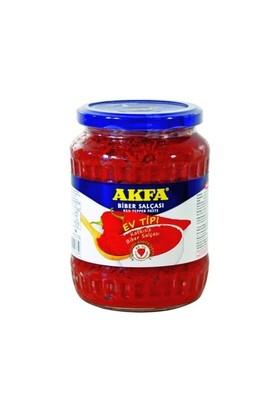Akfa Ev Tipi Biber Salçası 700 Gr Cam Kavanoz