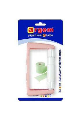 Argem Makaralı Tuvalet Kağıtlığı