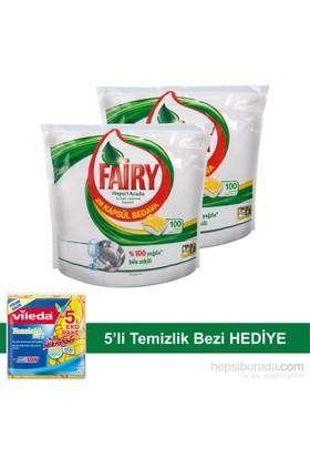 Fairy Hepsibirarada Bulaşık Makinesi Deterjanı Kapsülü 100 Yıkama 2'li Paket