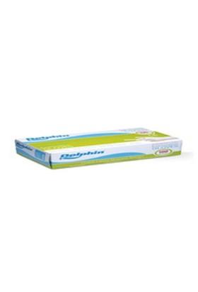 Dolphin latex eldiven (pudralı) 100 lü - M -