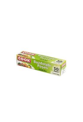 Cook Buzdolabı Poşeti Küçük Boy 20X30 Cm