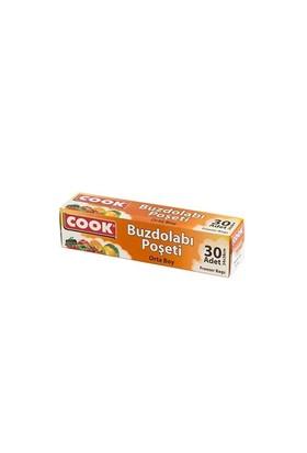 Cook Buzdolabı Poşeti Orta Boy 24X38 Cm