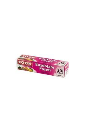 Cook Buzdolabı Poşeti Büyük Boy 30X45 Cm