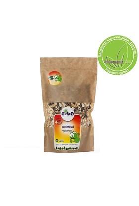 Gekoo Organik Ekomüsli Fındıklı Meyveli 400 Gr
