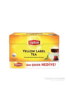 Lipton Yellow Label Demlik 100'lü Poşet Çay Şeker Hediyeli