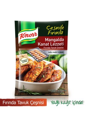 Knorr Fırında Tavuk Çeşnisi Mangalda Kanat Lezzeti 32 gr