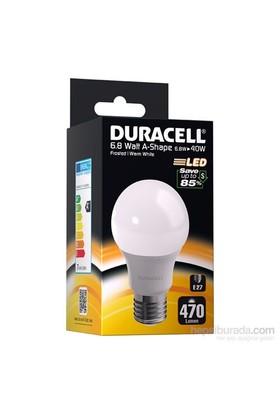 Duracell Led Ampul A73 E27 Duy 6.8Watt 470 Lümen 2700Kelvin (Yılda 34 TL'ye Varan Tasarruf)