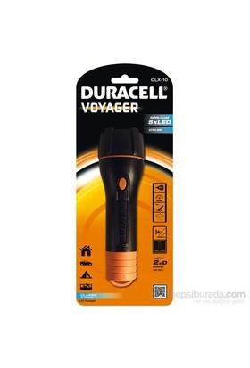 Duracell Led Fener CLX-10 Dayanıklı & Işık Oluklu Kauçuk Serisi
