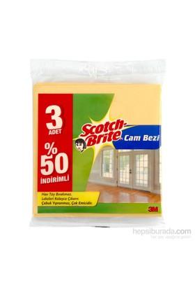 Scotch Brite Cam Bezi 3 'lü 50% İndirimli
