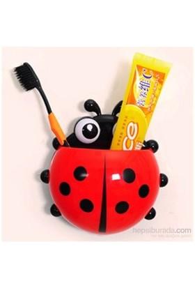 Hepsi Dahice Diş Fırçası ve Macunu Kutusu Uğurböceği Şekilli