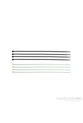 Hepsi Dahice Plastik Cırt Kelepçe 2,5x150 mm Beyaz 100 Adet