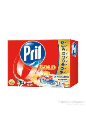 Pril Gold Bulaşık Makinası Tableti 30 Yıkama