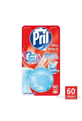 Pril Deo Perls Bulaşık Makinası Koku Giderici Anti Odor 3 'lü Deo Etki 60 Yıkama