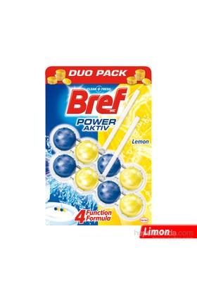 Bref Power Aktif Limon Katı Klozet Blok 2 'li Özel Paket