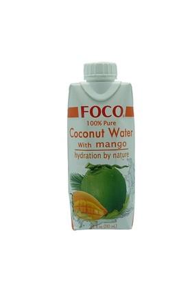 Thai World - Foco Mangolu Hindistan Cevizi Suyu (Uht), 330Ml