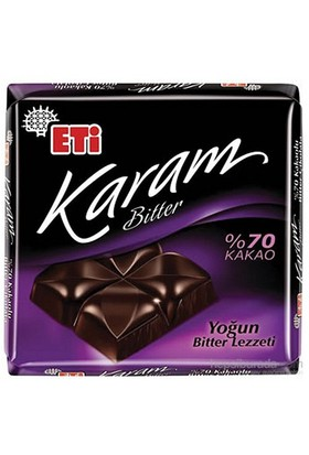 Eti C. 80 Gr Karam 70 Kakaolu Bitter Cik. (19804)