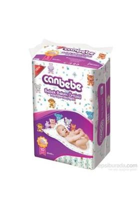 Canbebe Bebek Bakım Örtüsü 10'Lu 60X60 Cm