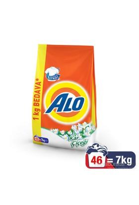 Alo Toz Çamaşır Deterjanı Kar Çiçeği 7 kg kk
