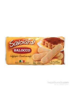 Balocco Savoiardi Kedi Dili 200 gr