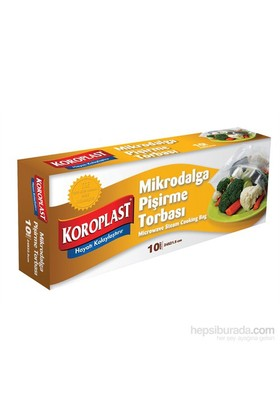 Koroplast Mikrodalga Pişirme Torbası 10'lu