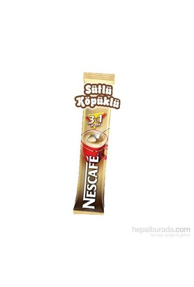 Nescafe 3 In 1 Sutlu Kopuklu 18 Gr