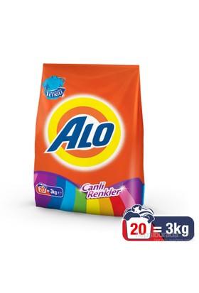 Alo Toz Çamaşır Deterjanı Canlı Renkler 3 kg kk