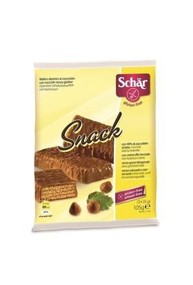 Schar Snack Glutensiz Çikolata Kaplı Fındıklı Gofret 3*35 Gr.