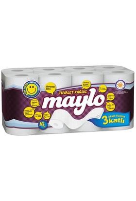 Maylo 3 Katlı Tuvalet Kağıdı 16'Li