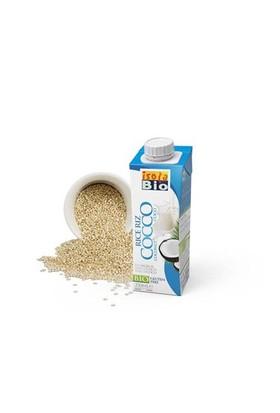 Isola Bio Organik Glutensiz Ve Şeker İlavesiz Hindistan Cevizli Pirinç İçeceği 250 Ml