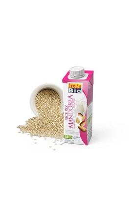 Isola Bio Organik Glutensiz Ve Şeker İlavesiz Pirinç Ve Badem İçeceği 250 Ml
