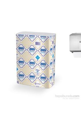 Senta Dispenser Ultra Z Katlamalı Havlu 23X22,5 Cm(475G/Pk)