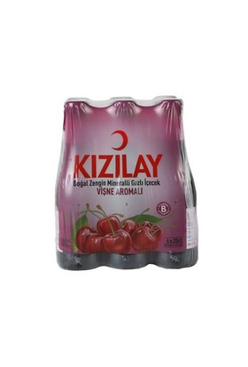 Kızılay Meyveli Soda Vişne 6 X 200 Ml