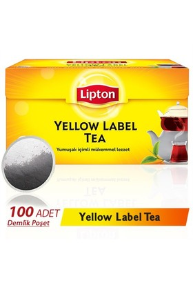 Lipton Yellow Label 3,20 gr 100 'lü Demlik Poşet Çay