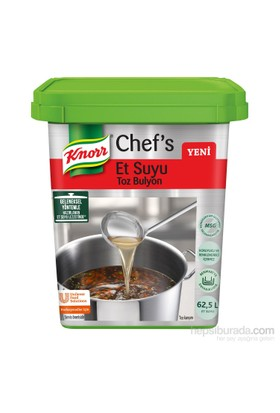 Knorr Chef's Et Suyu Toz Bulyon 1250 gr