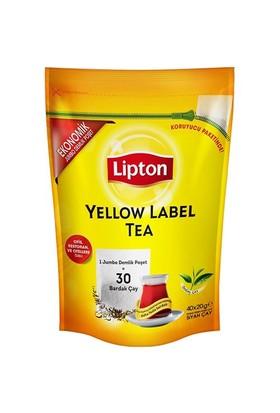 Lipton Yellow Label Jumbo Demlik Poşeti 40 lı
