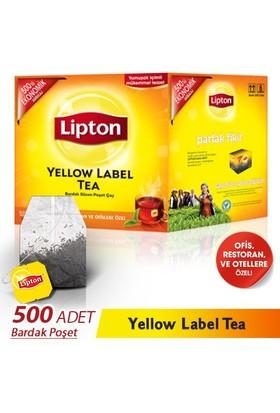 Lipton Yellow Label 500 'lü Bardak Poşet Çay